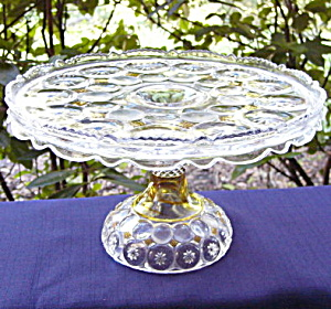 Jewelled Moon And Star Cake Stand