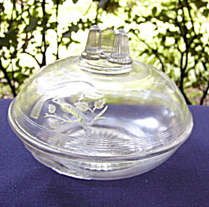 EAPG Cardinal Butter Dish (Image1)