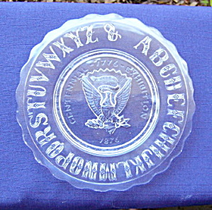 Eagle ABC Plate Centennial     (Image1)