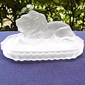 Gillinder Lion Paperweight (Image1)