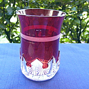 Spearpoint Band Tumbler - Ruby