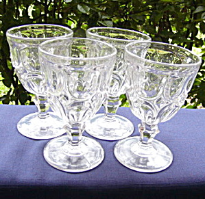 Flint Excelsior Goblets (Set Of 4)
