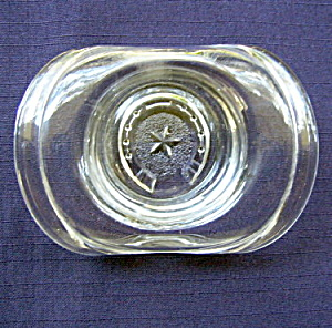 Starred Horseshoe And Band Glass Hat