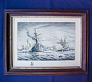 Battle of Manila Bay � Vanderhoof Etching (Image1)