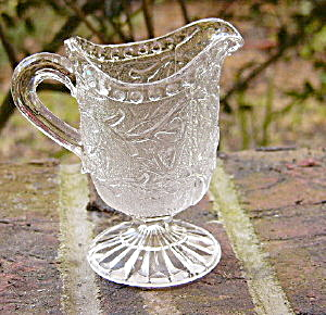 English Toy Flint Glass Creamer