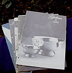 Gorham Silverplated Holloware Catalogs (4)