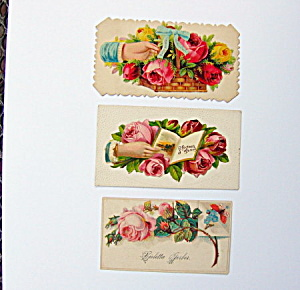 Victorian Die-cut Cards