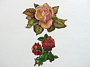 Victorian Die-Cut Large Roses (Image1)
