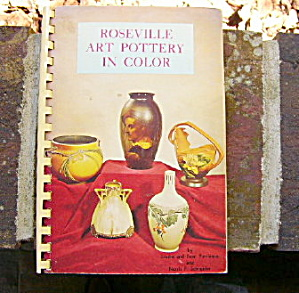 Roseville Art Pottery in Color - book by Purviance (Image1)