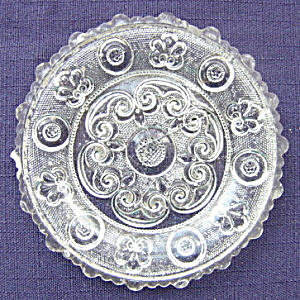 Cup Plate Lee Rose #177 (Image1)