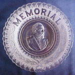 Click here to enlarge image and see more about item 137X: Garfield Memorial plate