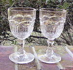 Click to view larger image of Block and Circle Goblets (2) (Image1)