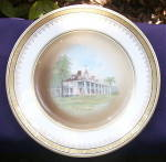 Click to view larger image of Mt. Vernon Porcelain Rosenthal Plate (Image1)