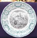 Click to view larger image of Sarreguemines Vengeur War Series Plate (Image1)