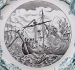 Click to view larger image of Sarreguemines Vengeur War Series Plate (Image2)