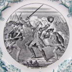 Click to view larger image of Sarreguemines Battle Series Plate (Image2)