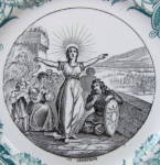 Click to view larger image of Sarreguemines Ste. Genevieve Battle Plate (Image2)