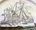 Click to view larger image of USS Maine Pottery Plate (Image2)
