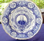 Click here to enlarge image and see more about item 290E: Admiral Dewey Coalport Plate