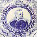 Click to view larger image of Admiral Dewey Coalport Plate (Image2)