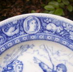 Click to view larger image of Wedgwood Ivanhoe Series Plate     (Image2)