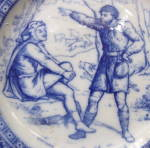 Click to view larger image of Wedgwood Ivanhoe Series Plate     (Image4)