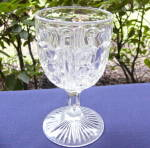 Click here to enlarge image and see more about item 4361: McKee's Brilliant Goblet