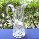 Click to view larger image of Cut Log tankard water pitcher (Image2)