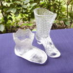 Click to view larger image of Glass Shoe Boot and Bootee Novelties (Image1)