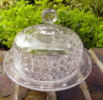 Click here to enlarge image and see more about item 4952: Mascotte Covered Butter Dish