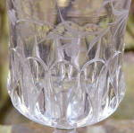 Click to view larger image of Crystal Wedding Goblet – etched (Image3)