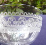 Click to view larger image of Fruit/Finger Bowls � Blown, Cut, Etched (5)	 (Image5)