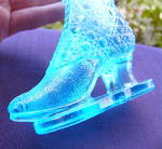 Click to view larger image of Blue Boot Novelty Bouquet Holder (Image4)
