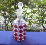 Click here to enlarge image and see more about item 5244: Gem Wine Decanter Ruby