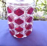Click to view larger image of Gem Wine Decanter Ruby (Image2)