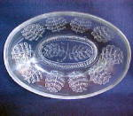 Click to view larger image of Pressed Leaf Relish Dish (Image1)