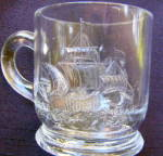 Click here to enlarge image and see more about item 5344: Columbus Landing Mug