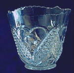 Click here to enlarge image and see more about item 5381: Heart with Thumbprint Ice Bucket