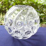 Click here to enlarge image and see more about item 5386: Snail Rose Bowl