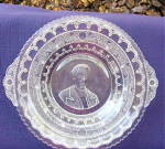 Click here to enlarge image and see more about item 5472: Minerva John Adams Plate