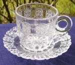 Click here to enlarge image and see more about item 5592: Cottage Cup and Saucer
