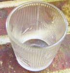 Click to view larger image of Ribbed Ivy Flint Whiskey Tumbler (Image2)