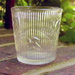 Click to view larger image of Ribbed Ivy Flint Whiskey Tumbler (Image3)