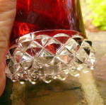 Click to view larger image of Pavonia Ruby Stained Mug (Image3)