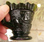 Click to view larger image of Sandwich Ivy Child's Creamer Black Amethyst (Image3)