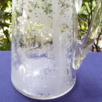 Click to view larger image of Etched Stag in Forest Water Pitcher (Image7)