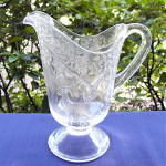 Click here to enlarge image and see more about item 5799: Deer and Oak Tree Water Pitcher