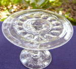 Click here to enlarge image and see more about item 5830: Baby Thumbprint Cake Stand