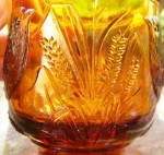Click to view larger image of Atterbury Robin Amber Glass Mug (Image3)