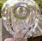 Click to view larger image of Bulls Eye and Fleur de Lis Flint Fluid Lamp (Image3)